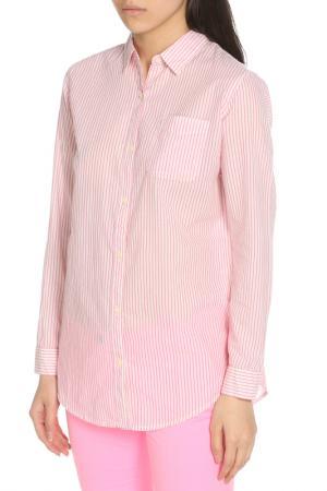 Рубашка Scotch&Soda. Цвет: pink, розовый