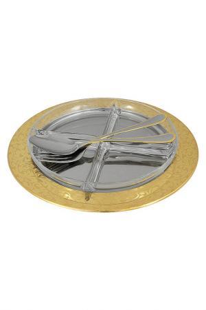 Менажница Giorinox. Цвет: серебряный