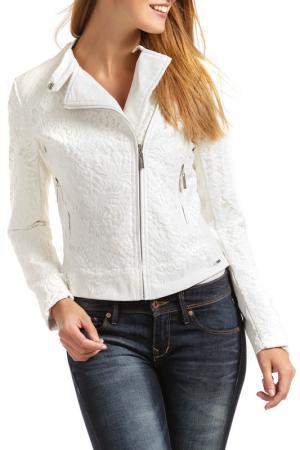 Куртка RINO & PELLE. Цвет: белый