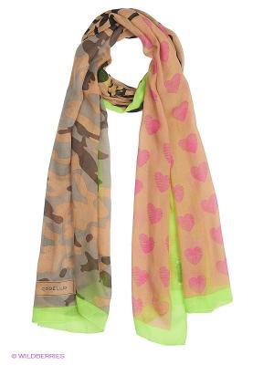 Платок CODELLO. Цвет: персиковый, розовый, салатовый
