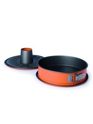 Форма для выпечки Dolce Excelsa. Цвет: черный, оранжевый