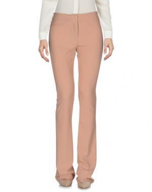 Повседневные брюки H2O ITALIA. Цвет: телесный