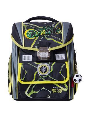 Ранец Across. Цвет: желтый, черный