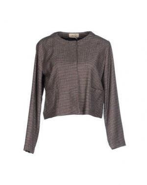 Пиджак NIU'. Цвет: коричневый