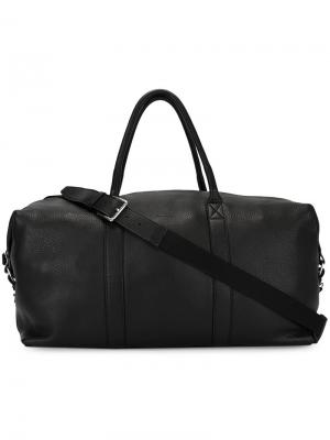 Классическая дорожная сумка Ami Alexandre Mattiussi. Цвет: чёрный