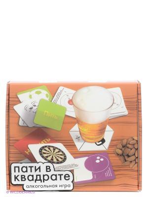 Игра Пати в квадрате Экспедиция. Цвет: коричневый