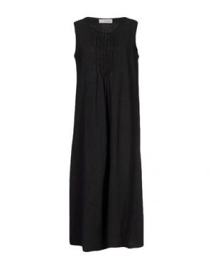 Платье длиной 3/4 UN-NAMABLE. Цвет: стальной серый