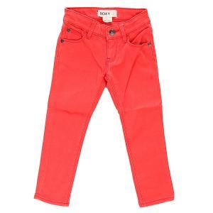 Штаны прямые детские  Salty Air K Pant Bright Pink Roxy. Цвет: розовый