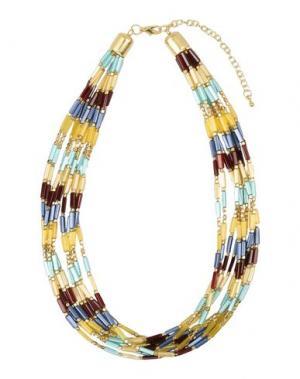 Ожерелье DETTAGLI. Цвет: желтый