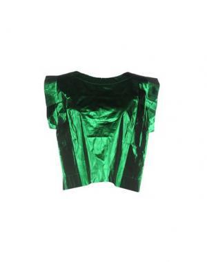 Блузка POLDER. Цвет: зеленый