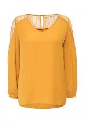 Блуза By Swan. Цвет: желтый