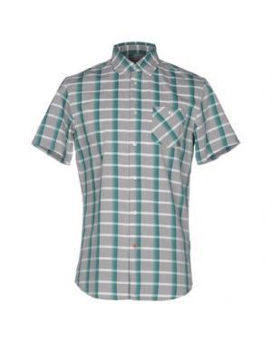 Pубашка 55DSL. Цвет: изумрудно-зеленый