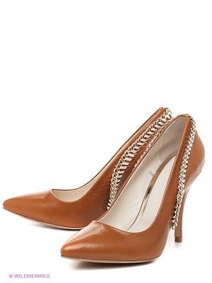 Туфли W2 Shoes&Accessories. Цвет: коричневый, золотистый