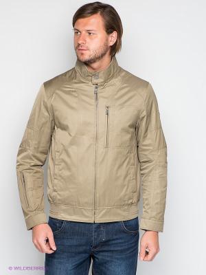 Куртка S4. Цвет: темно-бежевый
