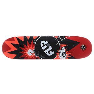 Дека для скейтборда  S5 Oliveira P2 Boom 32 x 8.13 (20.7 см) Flip. Цвет: черный,белый,красный