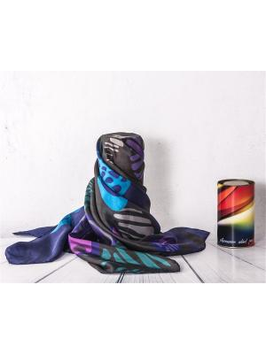 Платок Frija. Цвет: черный, голубой, горчичный, лиловый, светло-зеленый, сливовый, темно-синий