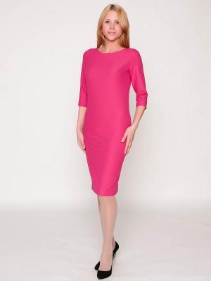 Платье LaFabricante. Цвет: фуксия