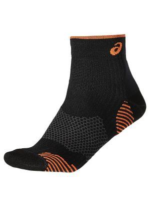Носки RUNNING DENSITY CUSHIONING SOCK ASICS. Цвет: черный, оранжевый