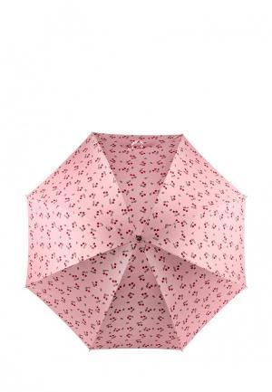 Зонт-трость Kawaii Factory. Цвет: розовый