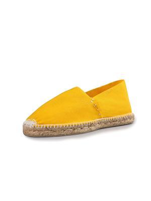 Эспадрильи женские La casa de espadrilles El Clasico amarillo. Цвет: желтый