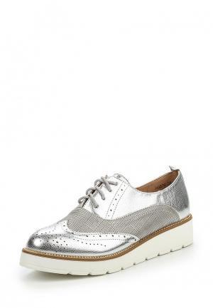 Ботинки Diamantique. Цвет: серебряный