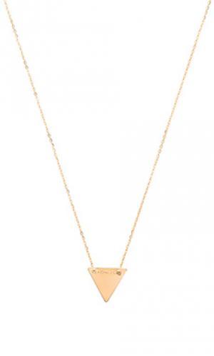 Ожерелье everyday Mimi & Lu. Цвет: металлический золотой