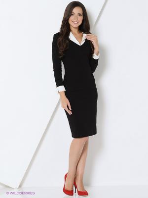 Платье DEVORE. Цвет: черный