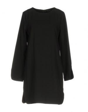 Короткое платье ANONYME DESIGNERS. Цвет: черный