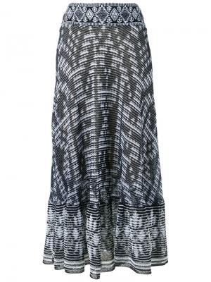 Knitted skirt Cecilia Prado. Цвет: чёрный