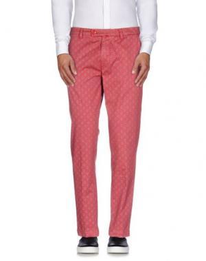 Повседневные брюки BARONIO. Цвет: красно-коричневый