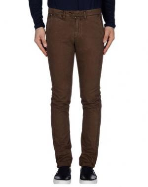 Повседневные брюки SEVENTY by SERGIO TEGON. Цвет: темно-коричневый