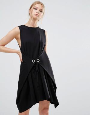Style Mafia Платье без рукавов. Цвет: черный