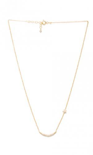 Цепочка natalie b ottoman moon and star Jewelry. Цвет: металлический золотой