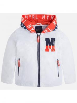 Ветровка Mayoral. Цвет: белый