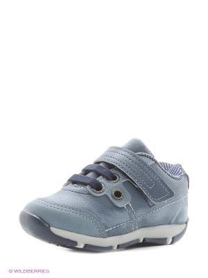 Ботинки Klin. Цвет: голубой
