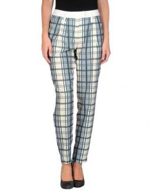 Повседневные брюки EMMA COOK. Цвет: зеленый