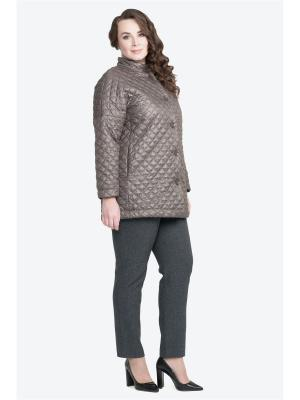Куртка Modress. Цвет: темно-коричневый