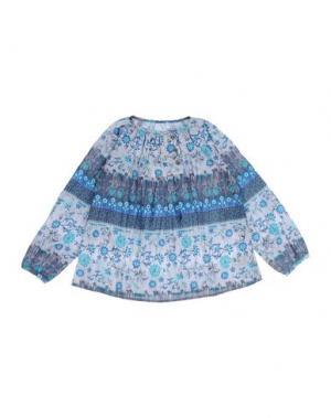Блузка CUSTO GROWING. Цвет: серый