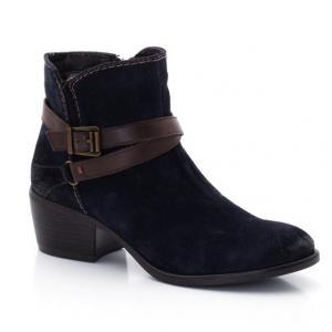 Ботинки замшевые TAMARIS. Цвет: синий морской