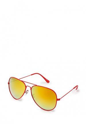 Очки солнцезащитные Vitacci. Цвет: красный