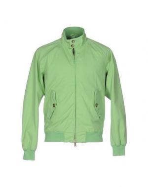 Куртка BARACUTA. Цвет: светло-зеленый