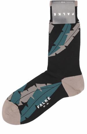 Хлопковые носки Falke. Цвет: черный