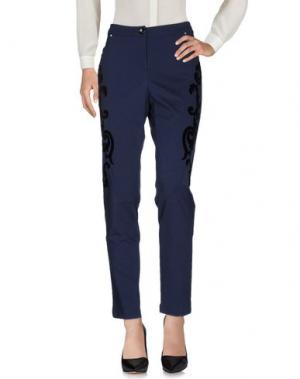 Повседневные брюки 22 MAGGIO by MARIA GRAZIA SEVERI. Цвет: синий