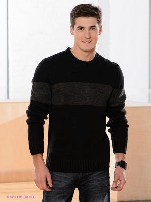 Джемпер Jeanswest. Цвет: черный, серый