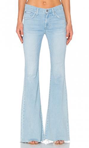 Расклешенные джинсы bella James Jeans. Цвет: none