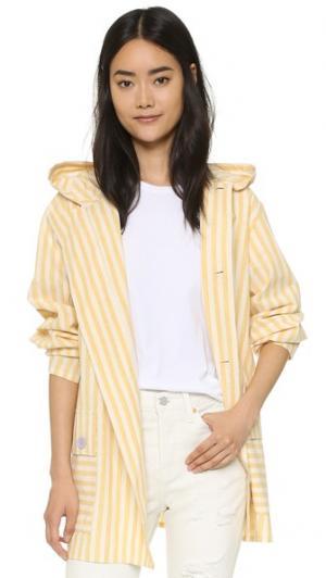 Жакет Panorama Samantha Pleet. Цвет: желтый полосатый