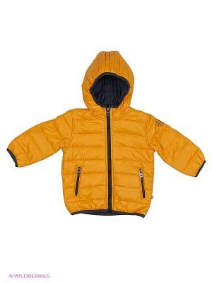 Куртка MANAI. Цвет: желтый