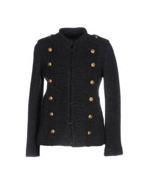 Пиджак ZUCCA. Цвет: свинцово-серый