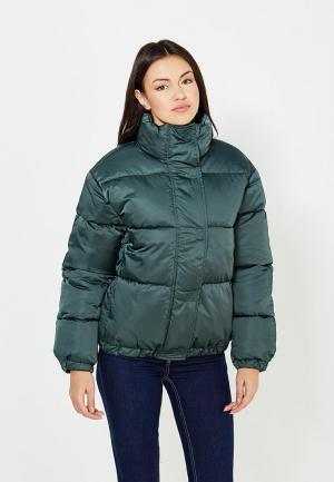 Куртка утепленная Imocean. Цвет: зеленый