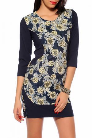 Платье Tugce Ece. Цвет: multicolor